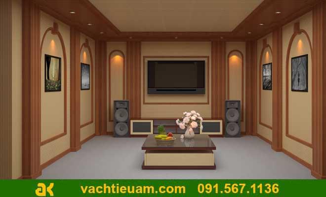 Phòng nghe nhạc gia đình phong cách cổ điển- nhìn là mê